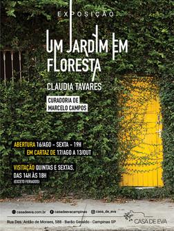 Um Jardim em Floresta