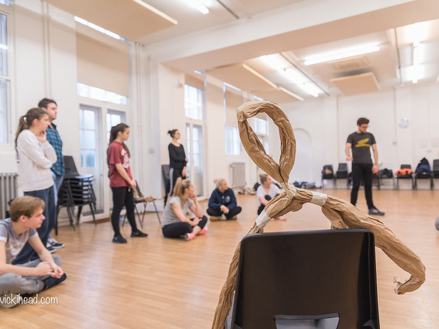 Puppetry Workshop, Jerwood Space