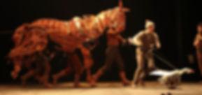 War Horse on Tour, photo by Ellie Kurttz