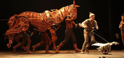 War Horse on Tour, photo by Ellie Kurttz