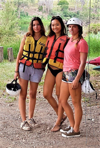 girls adventure sports