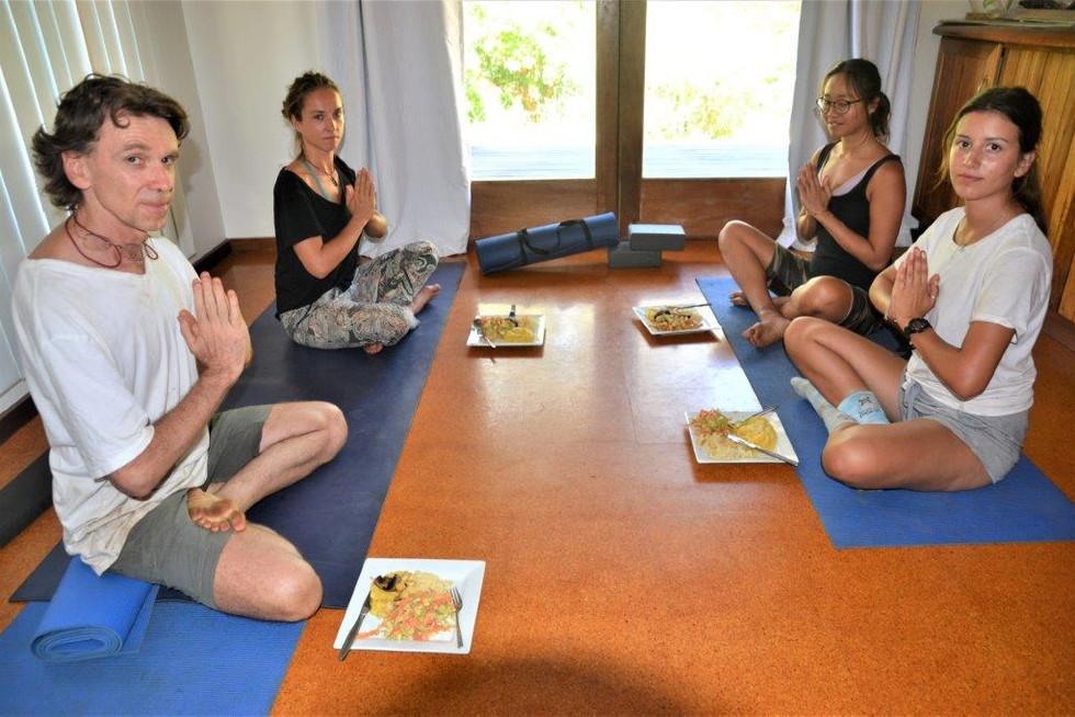 prayer before prasadum