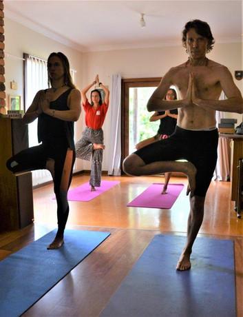 vrikshasana tree pose yoga asana class