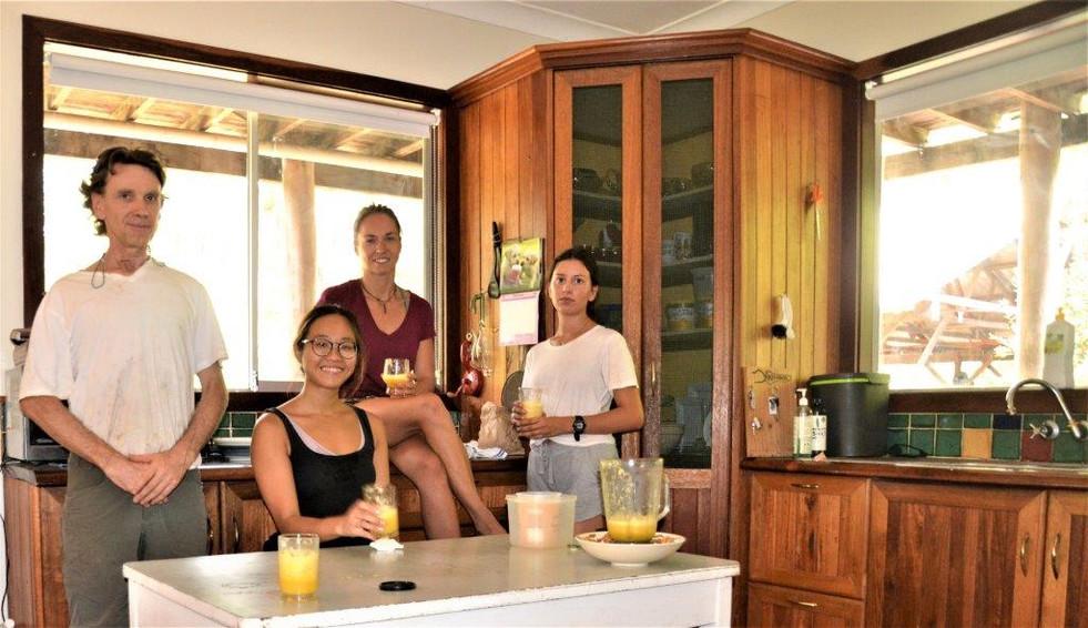 juice using Kuvings blender