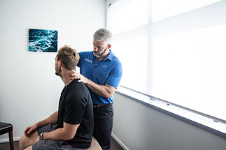 Osteopathy neck pain assessment