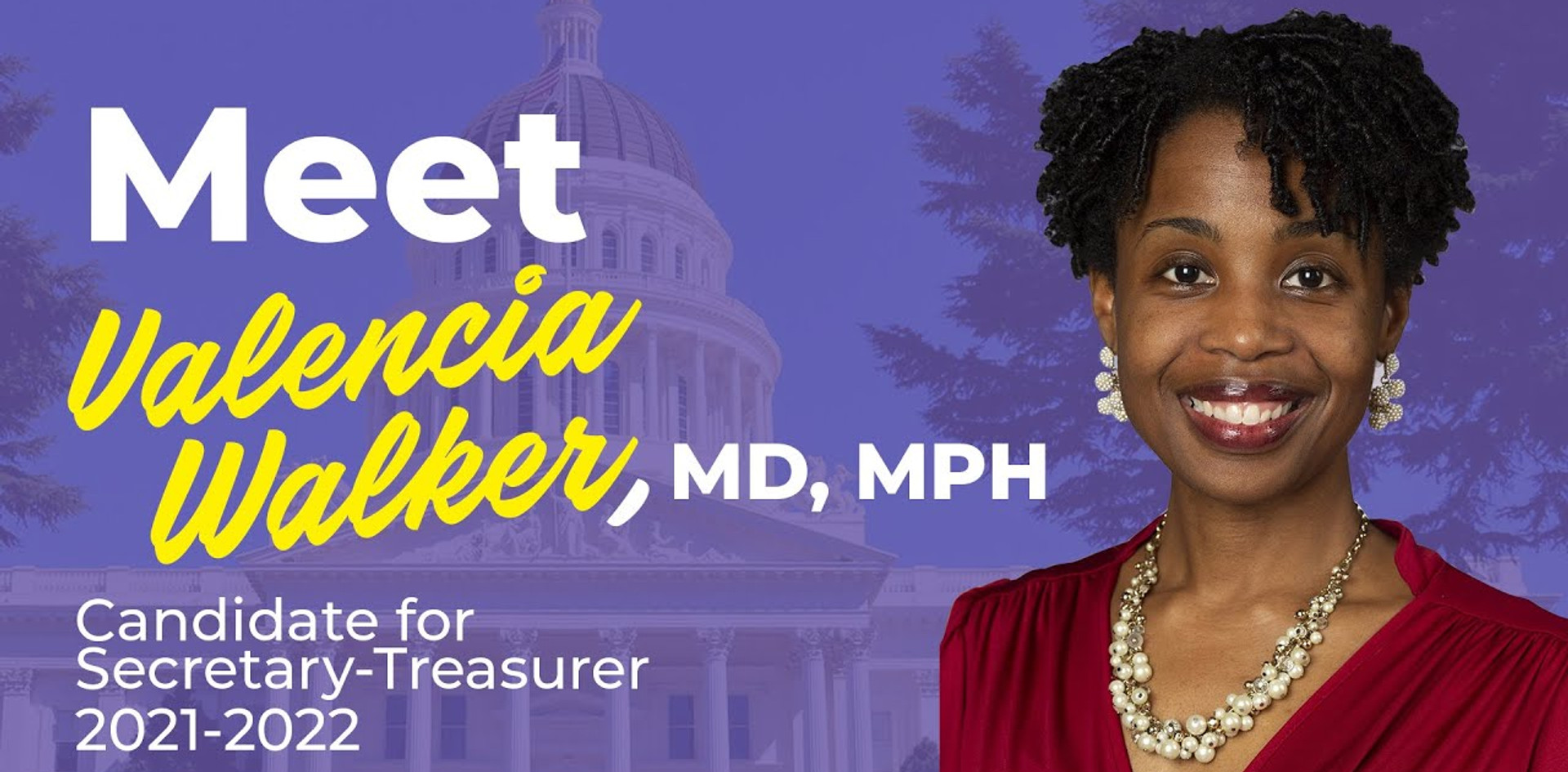CalPAC Campaign Video for Valencia Walker, MD, MPH