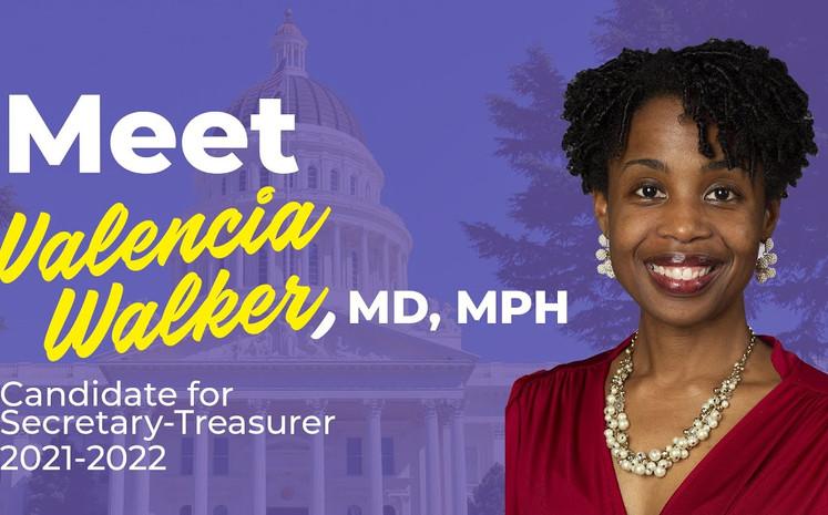 CalPAC Campaign Video for Valencia Walker, MD, MPH