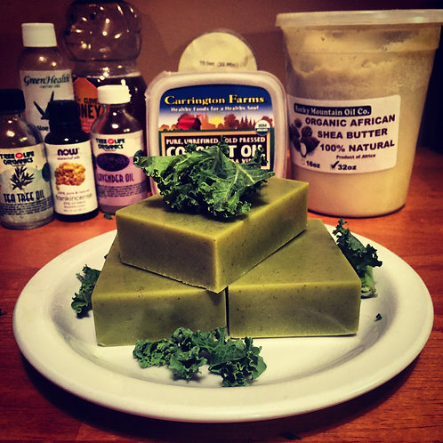 Kale Lime Mint Soap