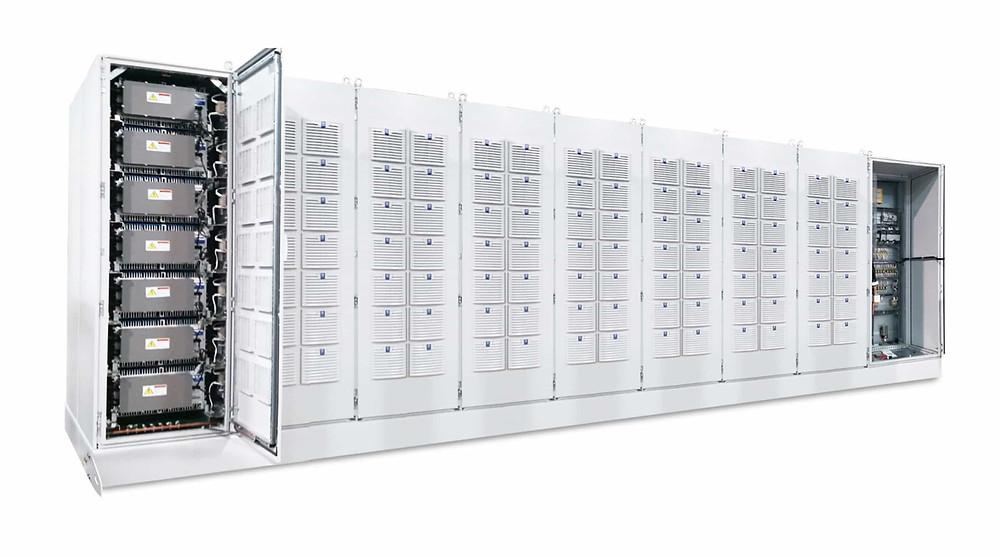 Stationary battery storage