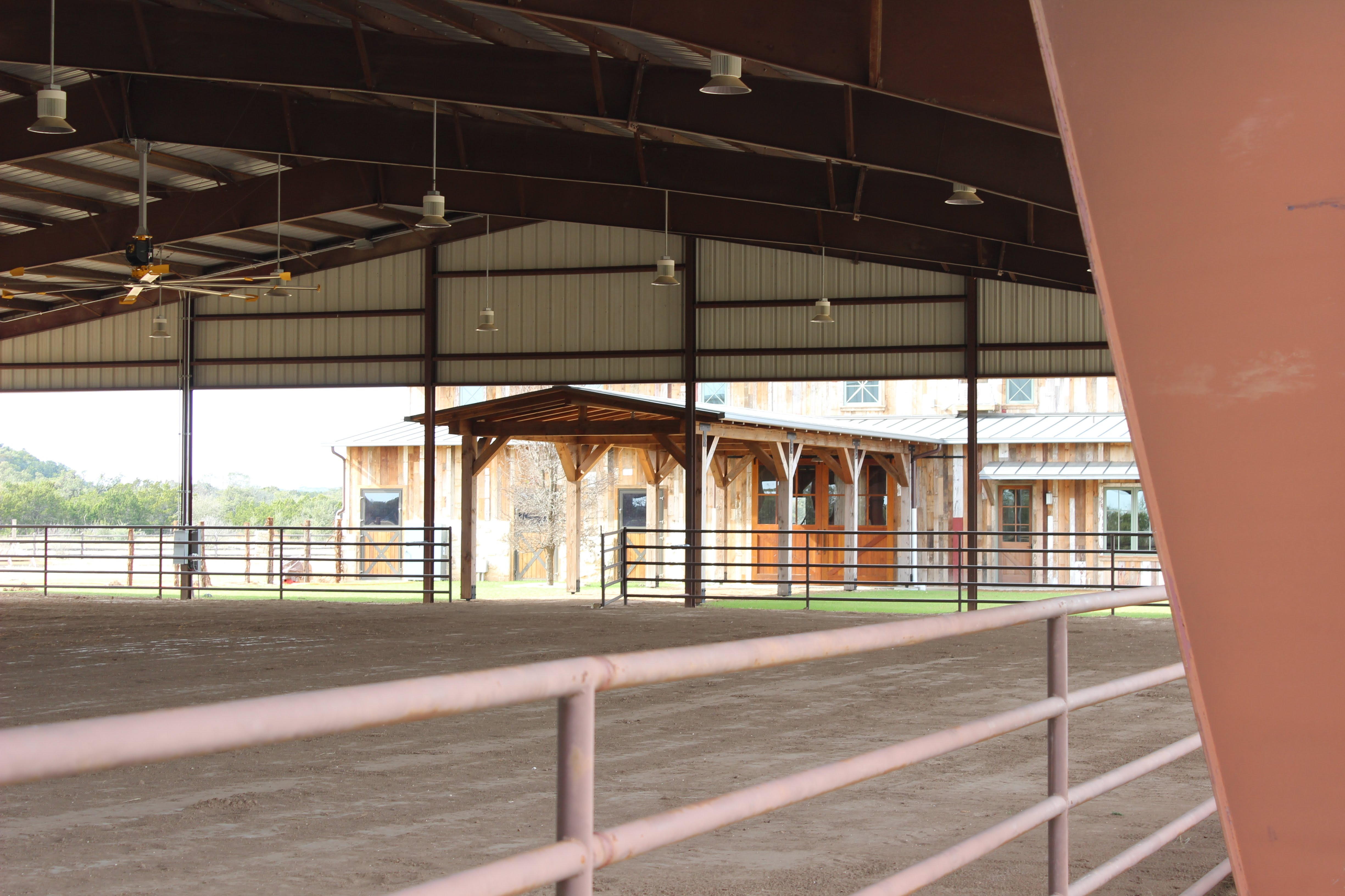 Arena view to Horse Stables