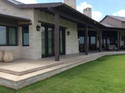 Porch addition facing original