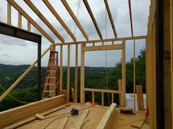 Framing- Gym- Steel for big windows