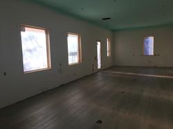 Floor installed