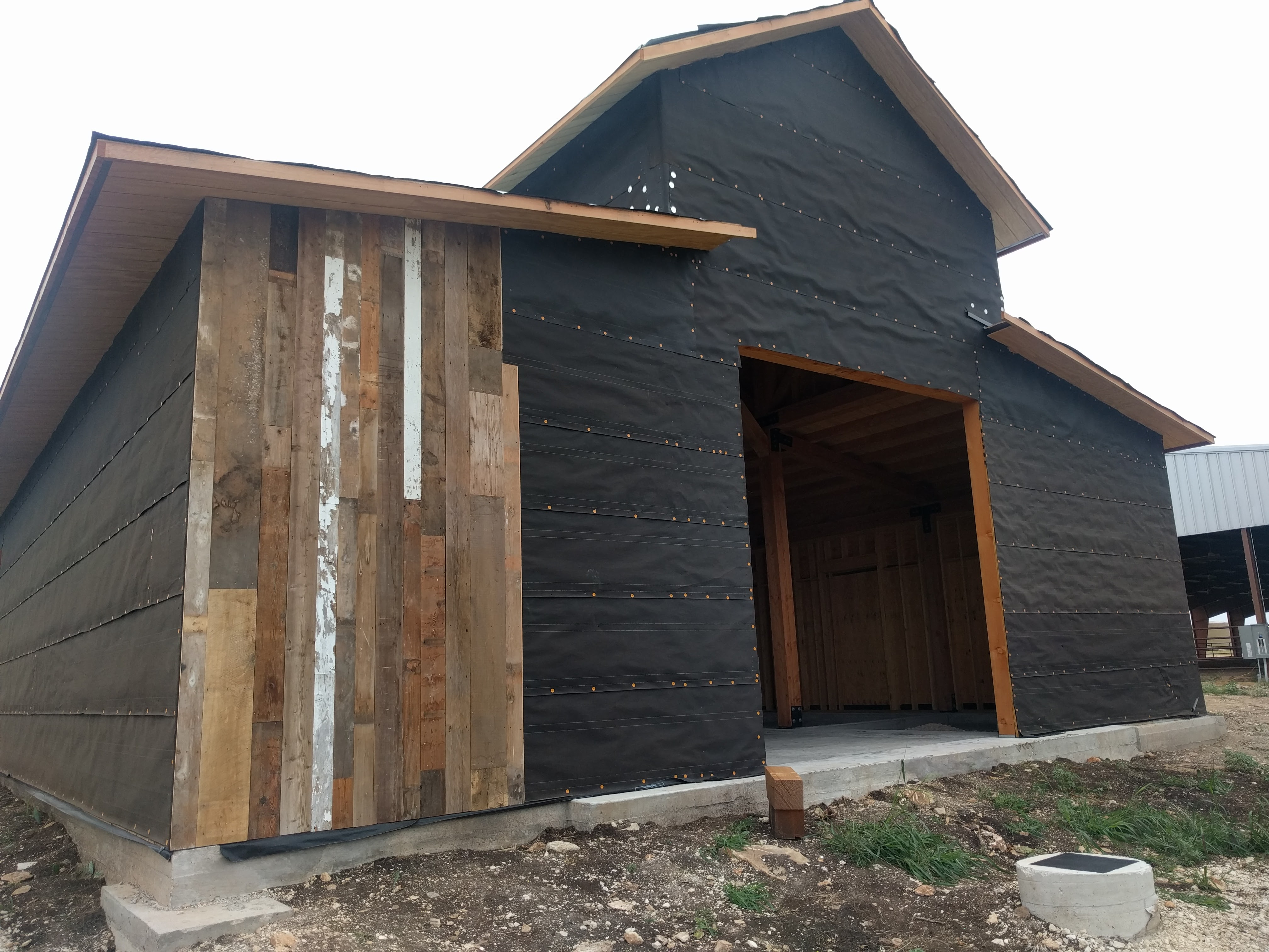 Approved reclaimed barnwood siding