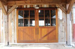 Custom barn doors- Spanish cedar