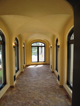 Venitian plaster walls