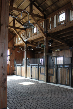 Horse Stalls-misting fans/heaters