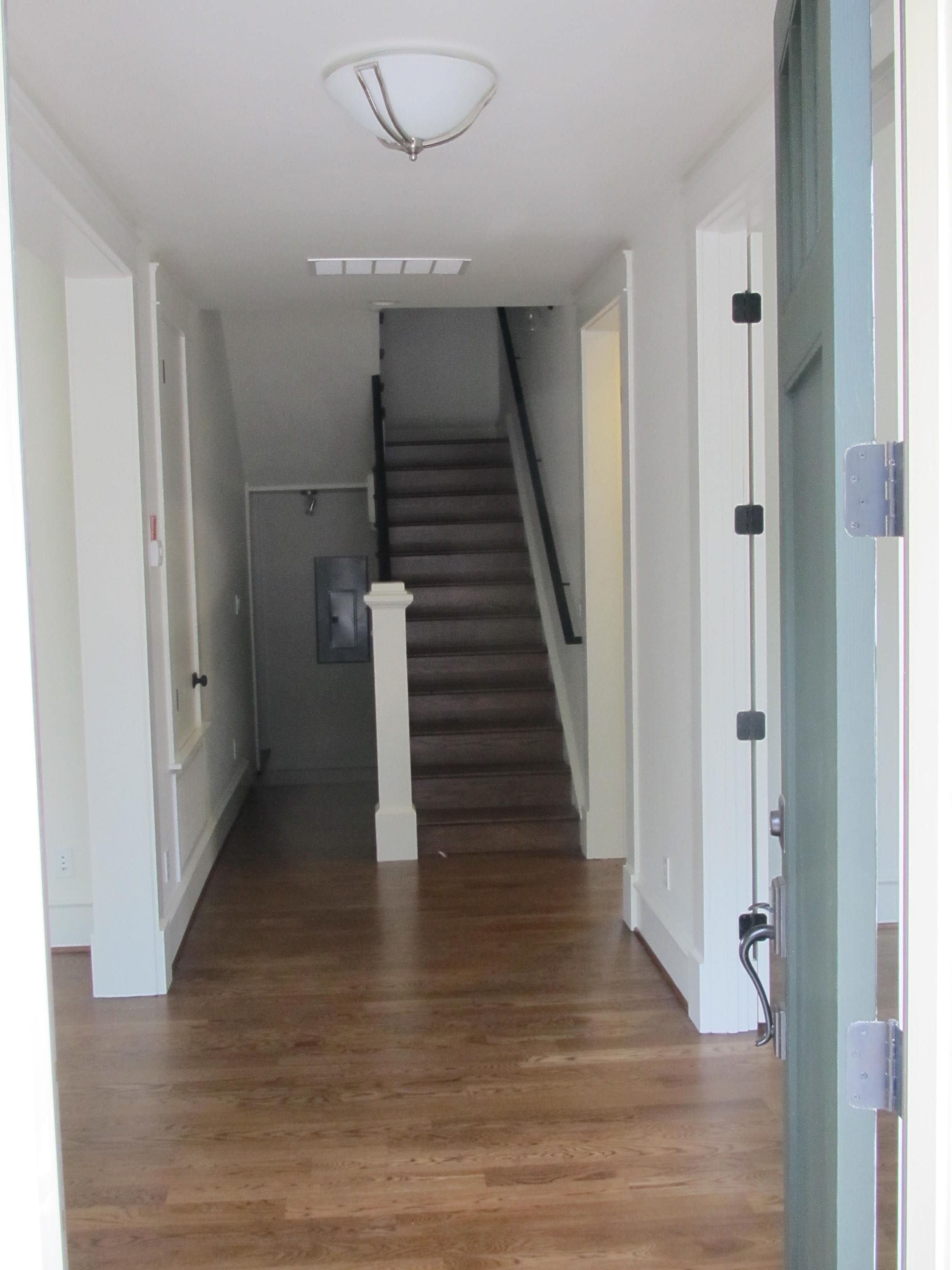 Stairwell entry