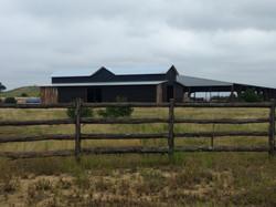 Vertical reclaimed barnwood siding