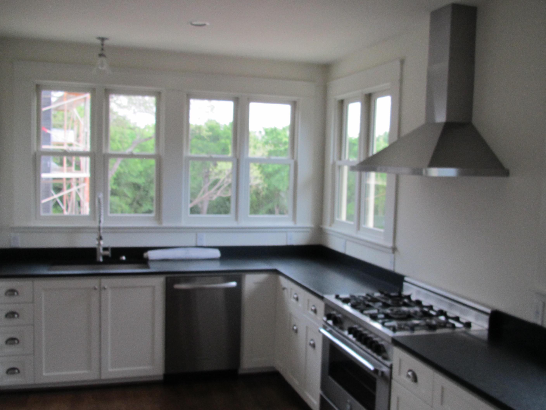 Corner windows- kitchen