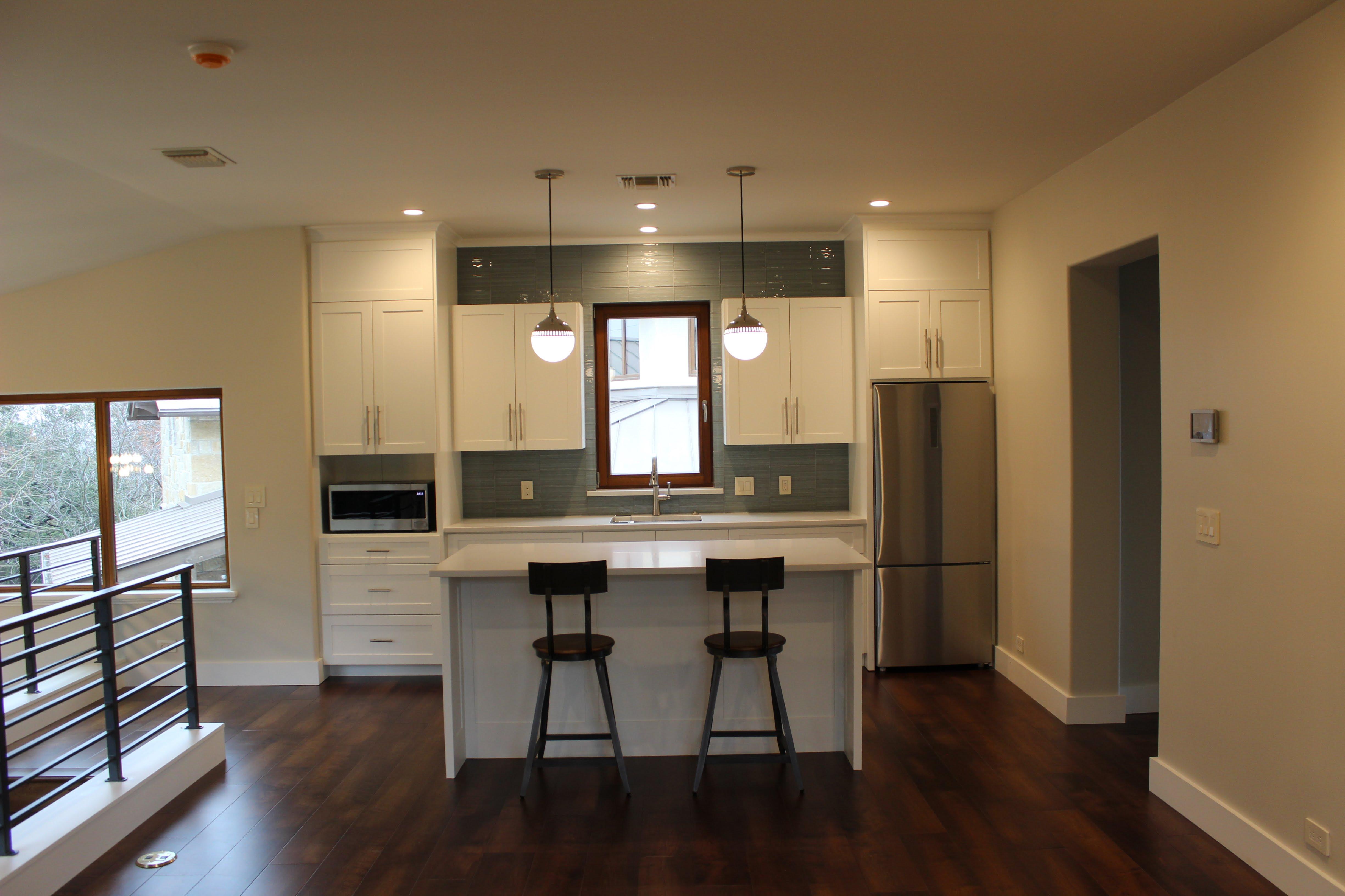 Kitchen- custom cabinets