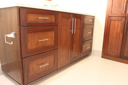 Bathroom vanity custom cabinets