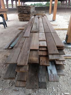 Reclaimed barn wood for siding