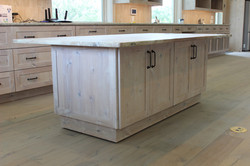 Wheeled tabled cabinet--marble scrap