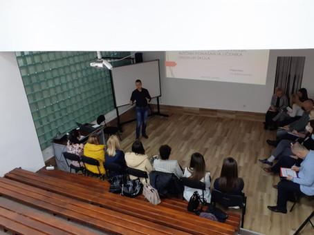 Prva radionica u Foči: Riziko faktori za nasilničko ponašanje u srednjim školama...