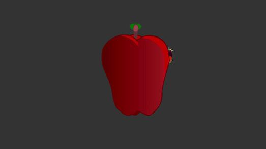 The apple!
