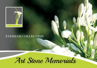 Memorial brochure Art Stone Memorials Burton
