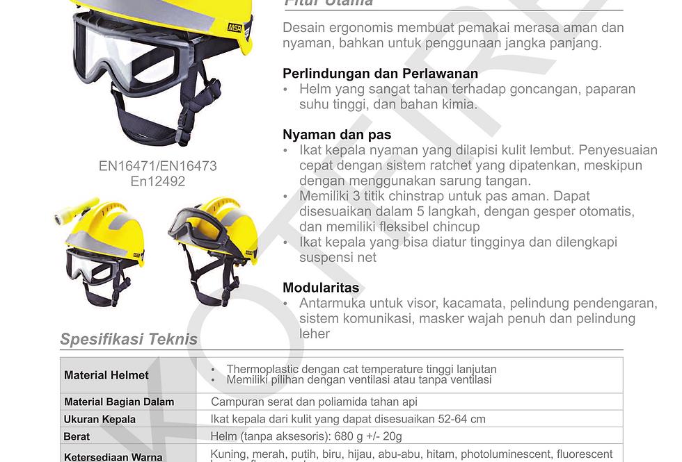 MSA F2-X Trem Helmet