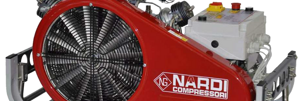 NARDI Pacific E High Pressure Breathing Air Compressor