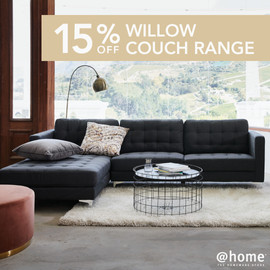 15%off Willow Couch Range - Newsfeed and