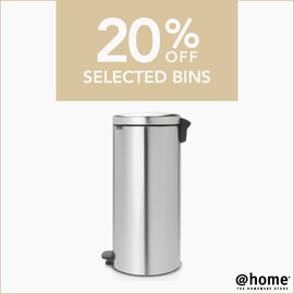 20% off selected bins - Newsfeed and Fac