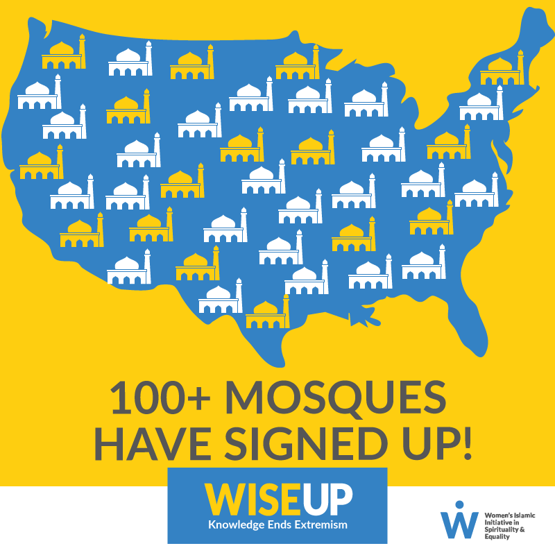 100 mosques signed up