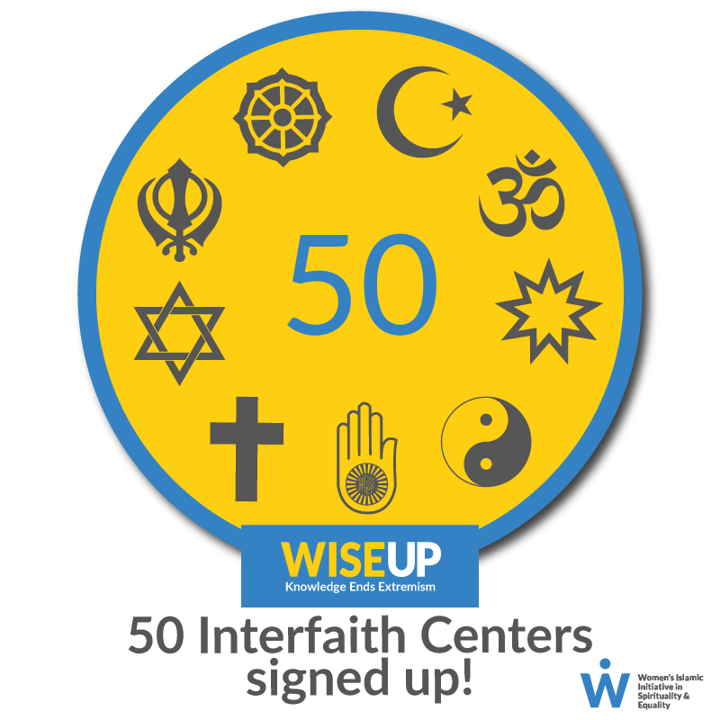 50 interfaith centers signed up