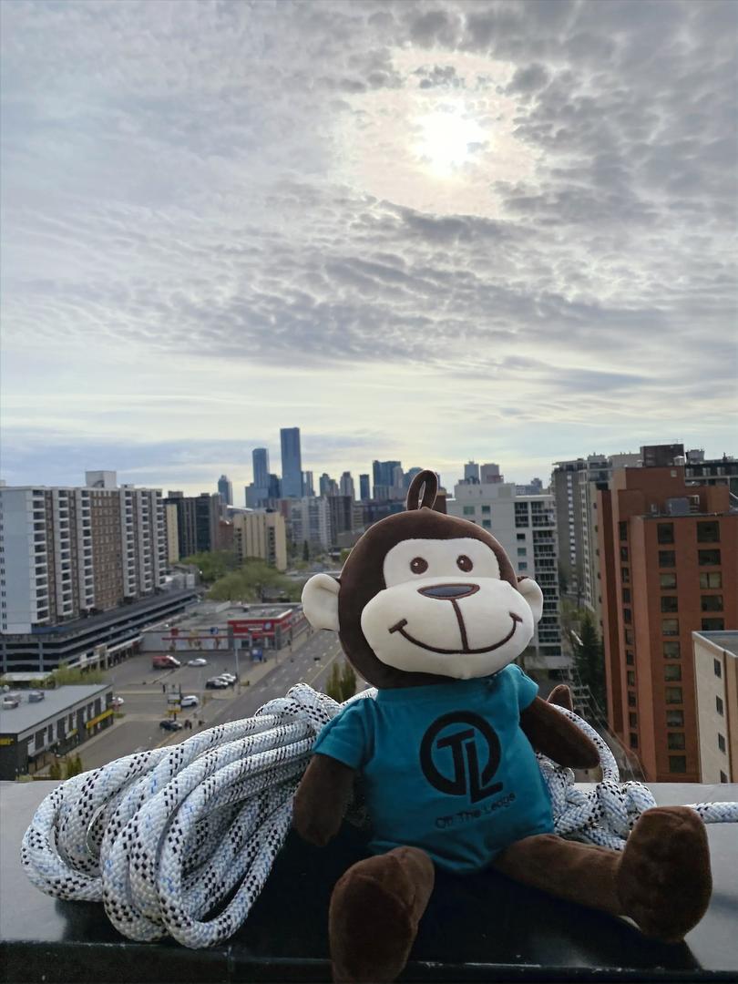 Edmonton Skyline with OIi