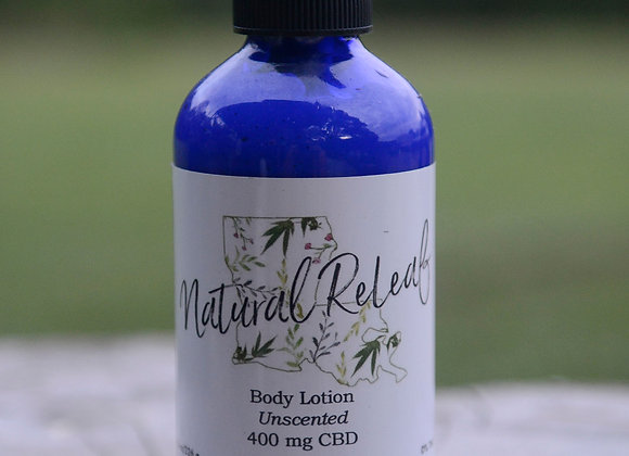 Body Lotion 400 mg CBD Unscented