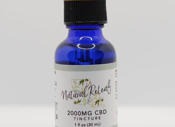 2000 mg CBD Tincture