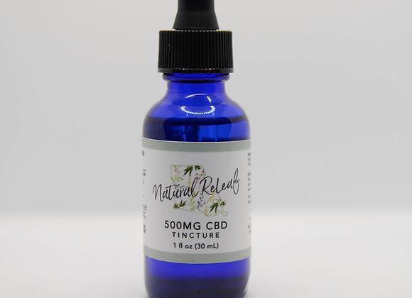 500 mg CBD Tincture