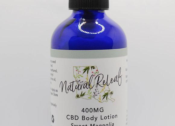 Body Lotion 400 mg CBD Sweet Magnolia