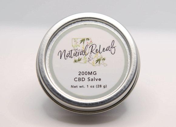 CBD Healing Salve 200 mg CBD