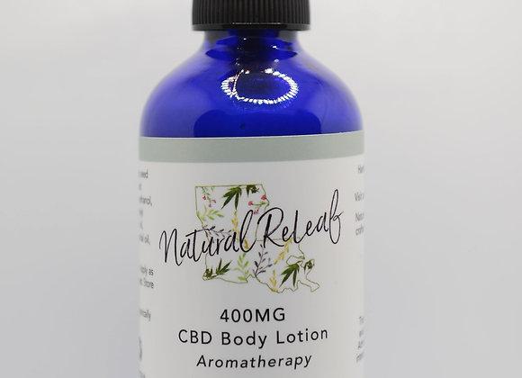 Body Lotion 400 mg CBD Aromatherapy