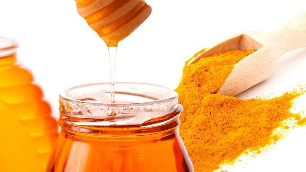 Honey and Tumeric Body Scrub