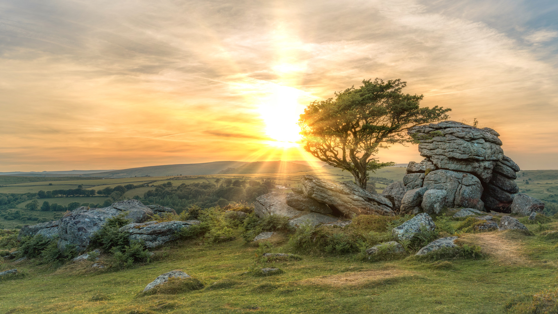 Sunset Emsworthy Rocks 2018