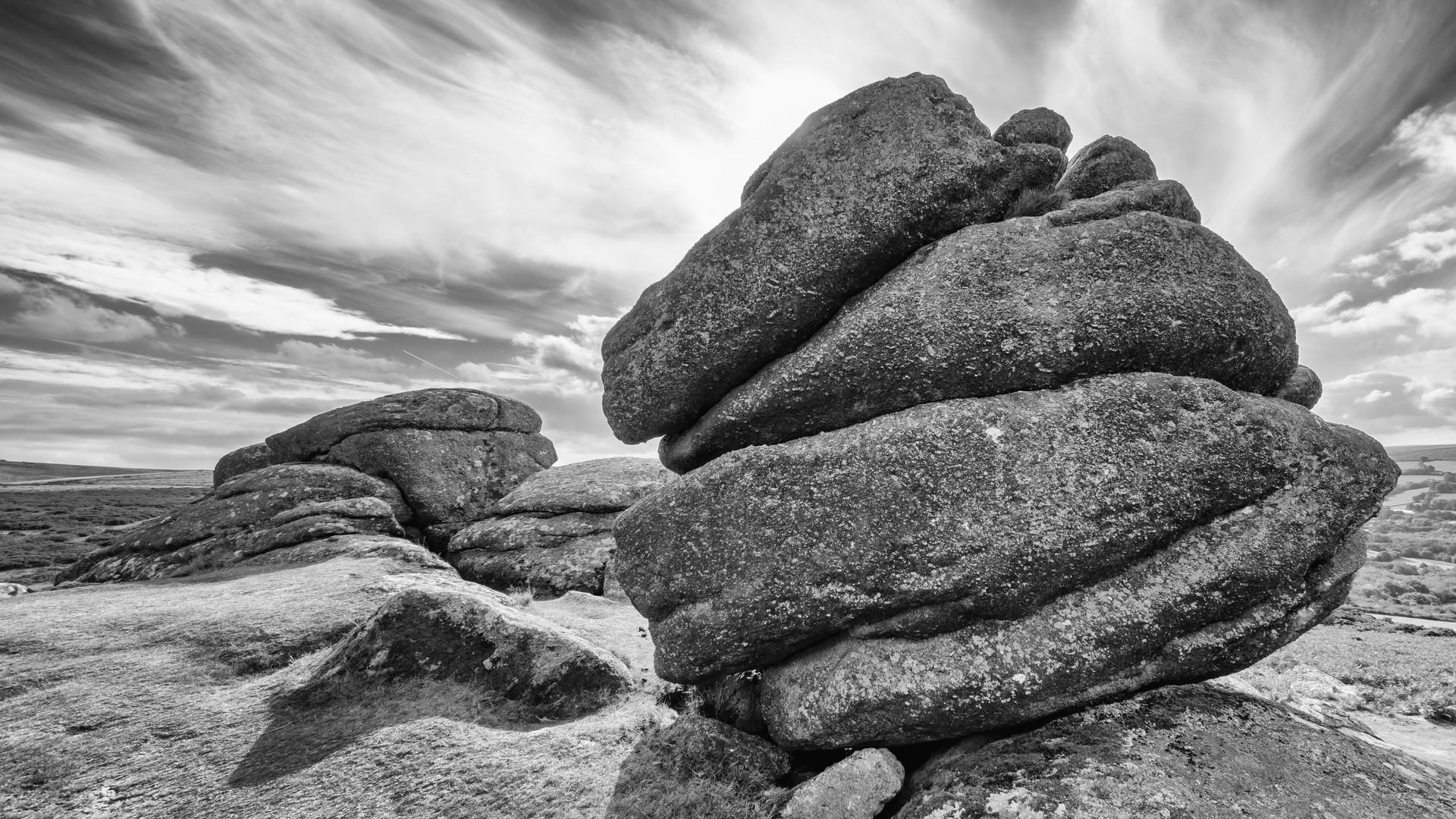 Bonehill Rocks (Black & White) 2018
