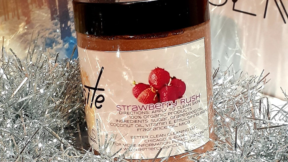 Strawberry Rush Face Scrub