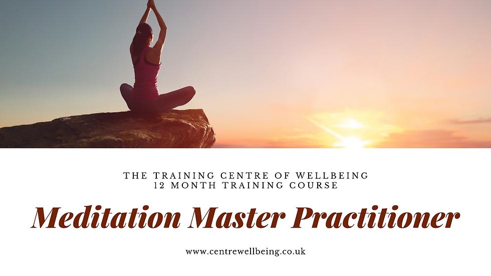 Meditation Master Practitioner £499