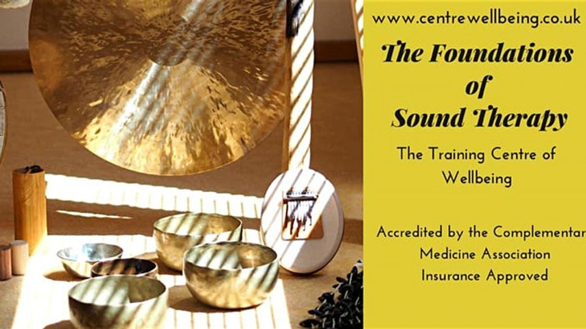 The Foundations of Sound Therapy Practitioner £350